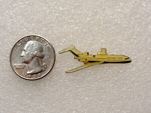 Collectible AIRCRAFT Hat / Lapel Pin BOEING 727 AIRLINER Airplane