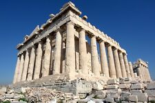 The Parthenon Athens Greece Ancient Architecture Poster Art 12x18 20x30 or 24x36