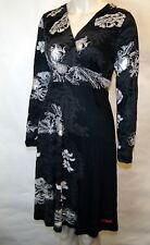 "Brand New Desigual collection Elegant & Stylish ""Netty"" black dress XS RRP £89"