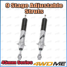 """Pair of Nissan Patrol Y62 4WD Front 9 Stage BMX Shock Absorbers 2"""" 40mm Lift"""