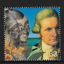 GB 1999 Millennium MAORI & CAPTAIN JAMES COOK Single Stamp USED (No 5)