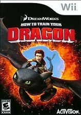 How to Train Your Dragon 1 Nintendo Wii Or U Kids Video Game Only 56