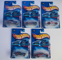 🇺🇸💥HOT WHEELS 2004 STAR-SPANGLED 2💥 FULL SET 1-5 💥VR COLLECTION MOC!💥🇺🇸