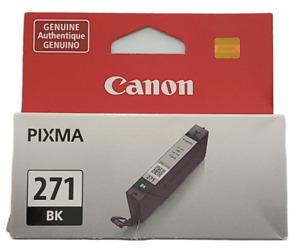 Canon Pixma 271 BL Black Ink Cartridge NEW SEALED 1 Pack Genuine