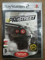Need for Speed ProStreet Playstation 2 PS2 (Platinum Edition)