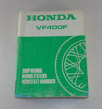 Manuale Officina/Officina Manuale Honda VF 400 F Von 1983
