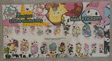 Tokidoki X Sanrio Characters Nail Stickers Brand New