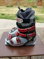 Nordica Cruise 60 Sixty Ski Boots Mens Size 9.5 27.5 Skiing Winter Red Gray