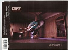 MUSE unintended #1 CD MAXI french pressing naïve