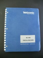 Instruction Manual Instruction Manual Sc502 Tektronix Plug In Oscilloscope