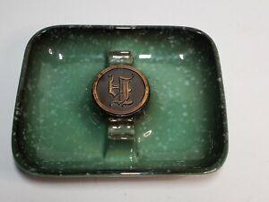 Vernco No. 1925 Vintage Cigar Ashtray - Green