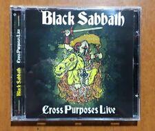 Black Sabbath - Cross Purposes Live 16 Tracks RARE CD Sealed