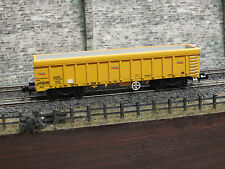 2F-045-008 NEW DAPOL N GAUGE IOA BALLAST WAGON NETWORK RAIL YELLOW 31705992081-3