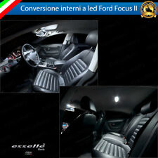 KIT FULL LED INTERNI FORD FOCUS MK2 II CONVERSIONE COMPLETA 6000K NO AVARIA