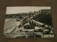 1950s Yorkshire Real photo postcard -- Spa Bridge & South Cliff -- Scarborough