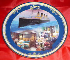 THE FIRST CLASS STATEROOM  -  TITANIC PLATE  -  (Ref:J5752)