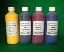 NON OEM HP Compatible Cartridge & CISS Refill Pigment Ink 4 x 1 Litre