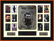 NED KELLY MEMORABILIA LIMITED EDITION WITH COA FRAMED 110cm X 81cm