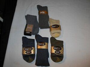 Lot of 6 Men's Socks Gold Toe Size 9 to 11 Shoe Size 6-9 Mixed Lot Crew Bermuda