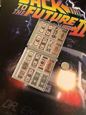 HOT TOYS RITORNO AL FUTURO 2 Doc Brown Money Case & bollette Loose SCALA 1/6th