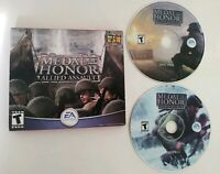 Medal of Honor Allied Assault 2005 PC Game Complete 2 Disc Jewel FREE Shipping