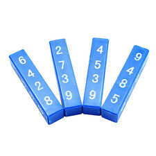 1Set Quick Calculation Blocks Magic Tricks Props Mentalism Children Kids ToysF&F