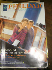 Phildar Créations N° 315 Printemps 1999 Spécial facile à tricoter Tricot Laine