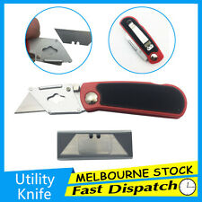 Quick Change Blades Folding Retractable Utility Knife Box Cutter Set