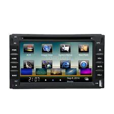 "Double DIN 2 DIN 6"" HD Car DVD Player GPS Navigation Bluetooth AM/FM/RDS A7C8"