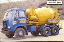 Atkinson 3 axle Ready Mix Concrete Lorry unused Nostalgia Road postcard