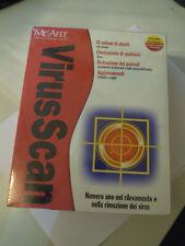 """McAFEE """" VIRUSCAN """" WINDOWS 2000/ME COMPATIBILE NUOVO MAI APERTO (L-11)"""