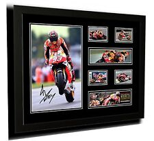MARC MARQUEZ SIGNED LIMITED EDITION FRAMED MEMORABILIA