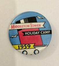 1959 Middleton Tower Holiday Camp badge