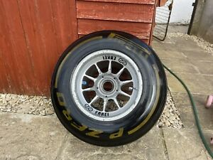 Mclaren F1 Wheel With Pirelli Tyre And Wheel Nut Hamilton Button Era Enkei Rare