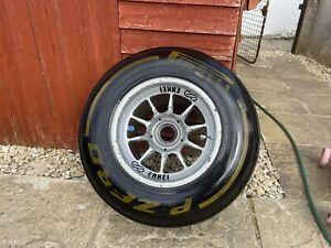 Mclaren F1 Wheel With Pirelli Tyre And Wheel Nut Hamilton Button Era Enkei Rare