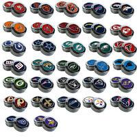 Brand New NFL All Teams Chrome License Plate Frame Screw Caps