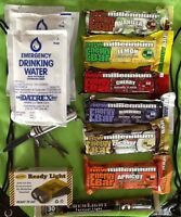 2-Day Food Water Light Emergency Survival Kit Camping Prepper Bug Out Bag GO BAG