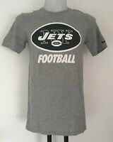 NEW YORK JETS GREY NFL GRAPHIC TEE SHIRT BY NIKE SIZE ADULTS SMALL BRAND NEW
