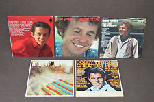 BOBBY VINTON 5 LP LOT VINYL ALBUMS COLLECTION Melodies Love/Roses are Red/Hits+