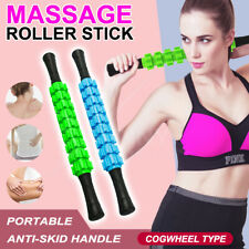 Yoga Gear 9 Bead Trigger Point Body Muscle Therapy Stick Roller Massage Stick