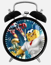 """SpongeBob SquarePants Alarm Desk Clock 3.75"""" Home or Office Decor Z200"""