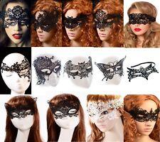 Gothik Masken  Augenmaske 16 Modelle Spitze Venezianisch  Halloween Karneval