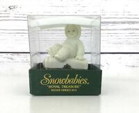 """Dept 56 Snowbabies """"Royal Treasure"""" Swarovski Crystal Birthstone June Pearl"""