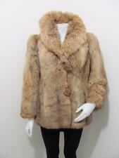 Gorgeous Modern Ladies  Genuine Red Fox Fur Fluffy Jacket Coat Sz Medium
