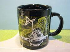 "F-16 ""FALCON"" GLASS CERAMIC COFFEE MUG"