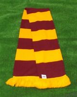 Gryffindor (Harry Potter) Colours Retro Bar Scarf - Claret & Amber