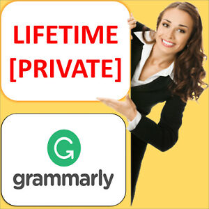 GRAMMARLY.PREMIUM 🌟 LIFETIME AND PRIVATE🌟 ⚡INSTANT DELIVERY⚡ ✔️