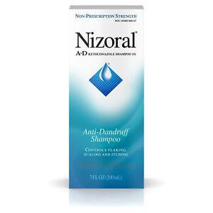Nizoral A-D Anti-Dandruff Shampoo Dry/Itchy Relief 7 Fl. Oz