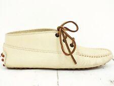 0515de6fbd1322 TOD´S ❤ Damen Stiefeletten Gr. 36.5 Echtleder Beige Boots Schuhe Shoes