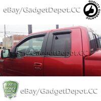 For 2004-2013 2014 Ford F150 F-150 Super Cab Window Visor Vent Rain Deflector